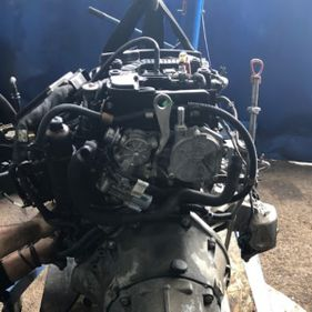 BEFORE Mercedes Benz C Class coupe 2012 complete engine rebuild engine