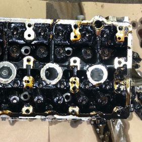 BEFORE Mercedes Benz C class coupe 2012 complete engine rebuild